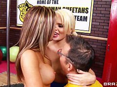 Alexis Ford and Courtney Cummz are naughty cheerleaders