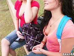 Paige Paxton and Sasha Stowaway get filmed in pov