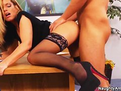 Kristal Summers and Rocco Reed in a Naughty Office